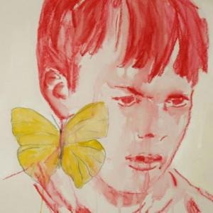 Edi Dubien, Être enfin pour toujours (détail), 2020 Courtesy de l'artiste et Galerie Alain Gutharc, Paris © Adagp, Paris, 2020